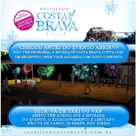 Réveillon Costa Brava 2013 - Chegou Antes