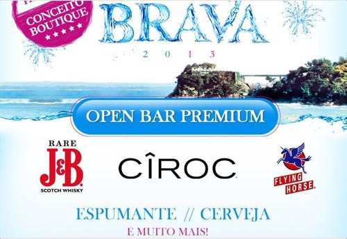 Réveillon Costa Brava 2013 - Open Bar Premium
